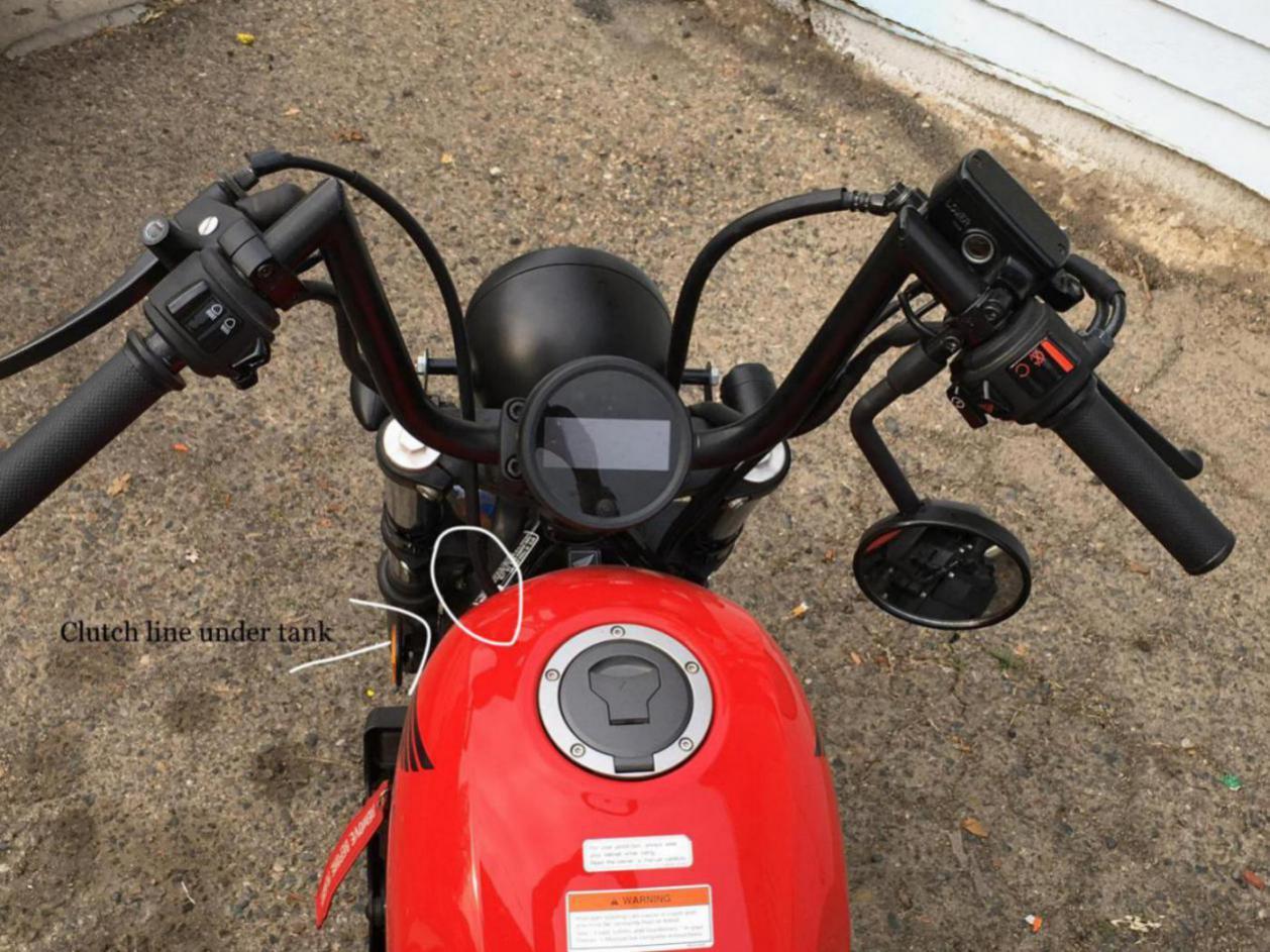 Handlebars Honda Rebel 300 500 Forum