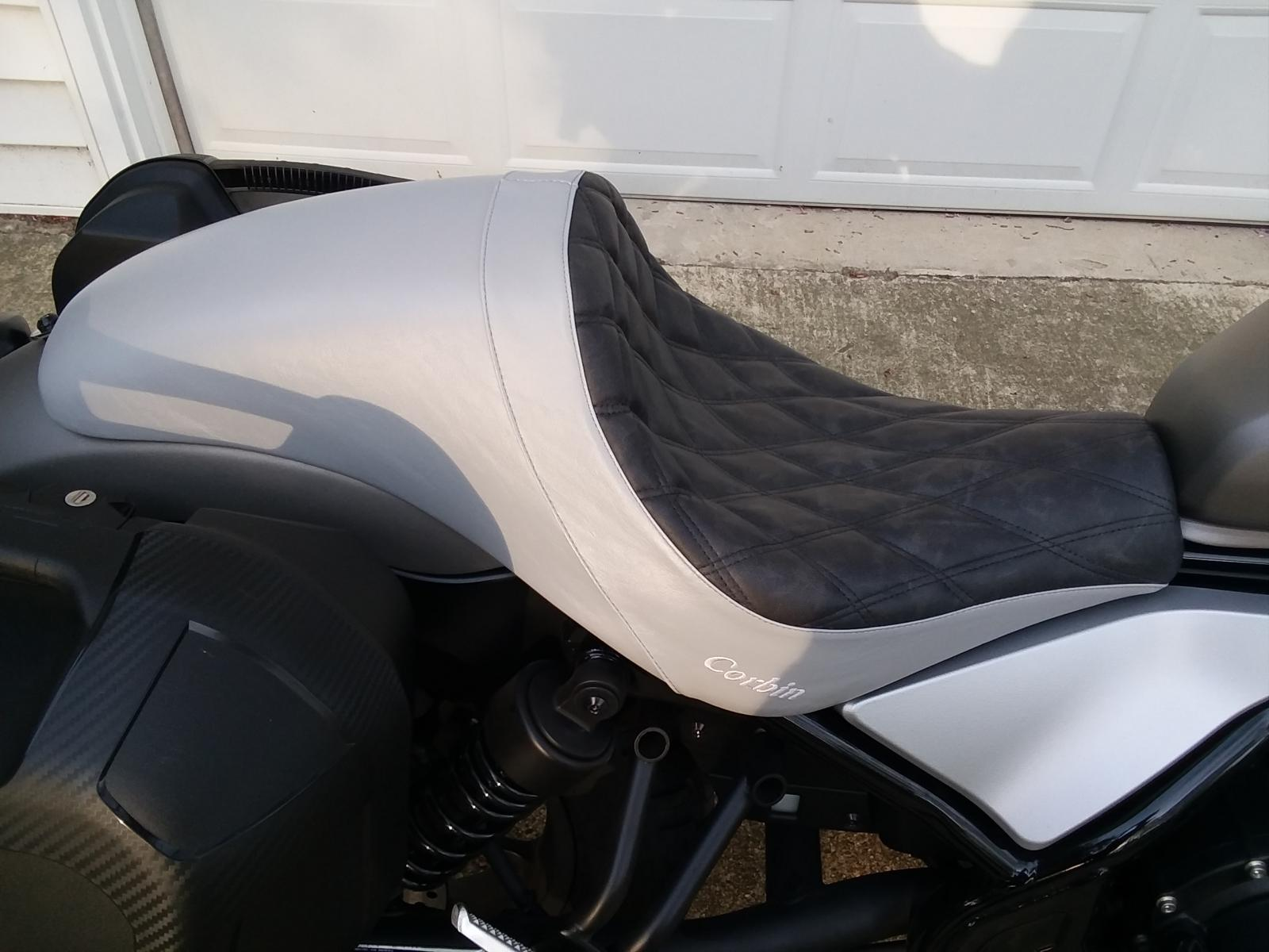 My Corbin Seat Honda Rebel 300 500 Forum