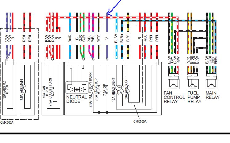 Accessory Fuse and Fuse Diagram | Honda Rebel 300 & 500 Forum | Rebel 450 Wiring Diagram |  | Honda Rebel 3 Forum
