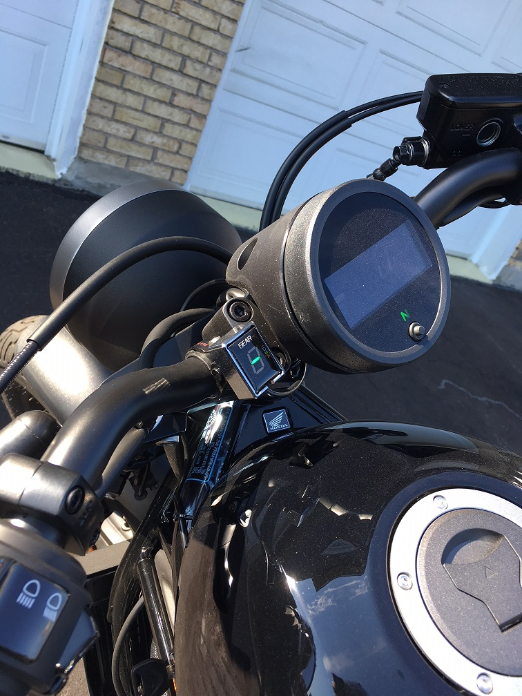 Gear Indicator Or Tachometer Honda Rebel 300 500 Forum