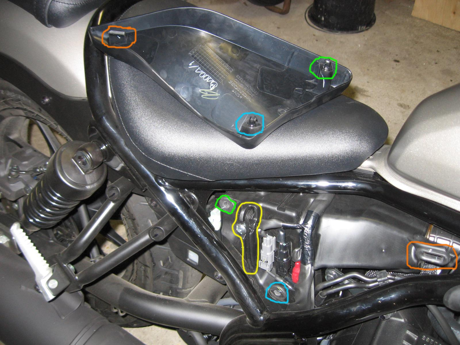 Fuse Box For Honda 500